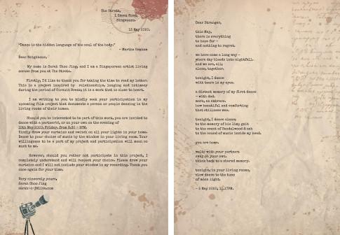 27 HAPPENINGS - letter