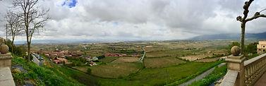 Laguardia, bike ride in Spain