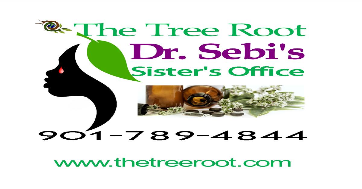 The Tree Root (Dr  Sebi's Sister's Office) - Food List