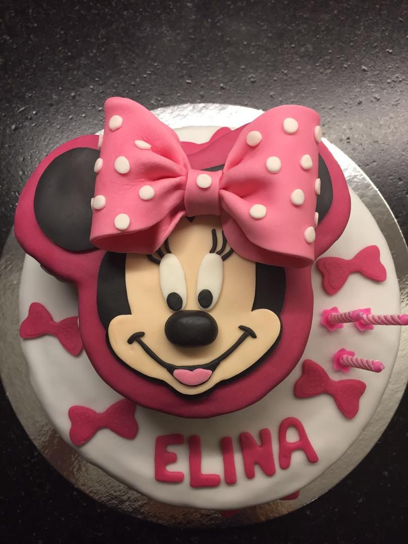 Mini Mouse-Torte
