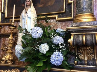 Decoraçaõ do altar
