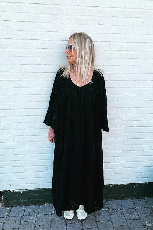 MARY TETRA DRESS BLACK