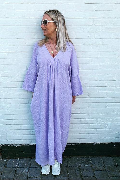 LIV COTTON DRESS LILAC