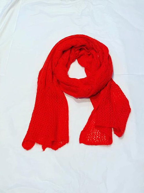 AUDREY SCARF RED