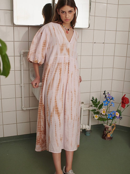 VENICE MIDI TIE DYE DRESS 01