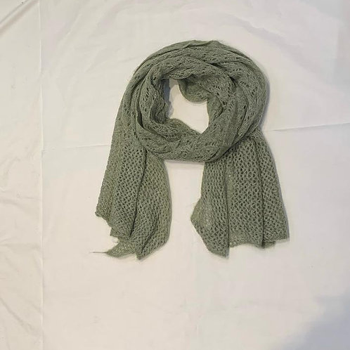 AUDREY SCARF LIGHT KHAKI