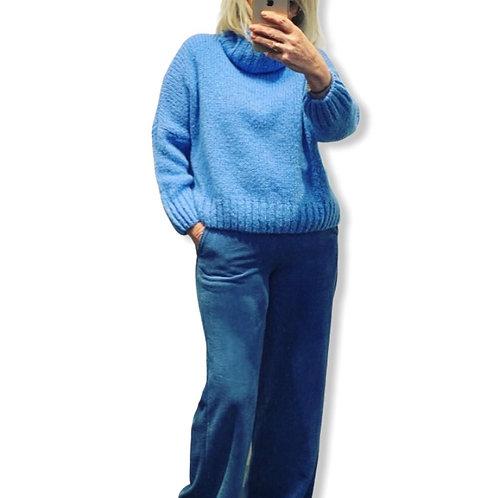 KATHY CORDUROY PANTS BLUE
