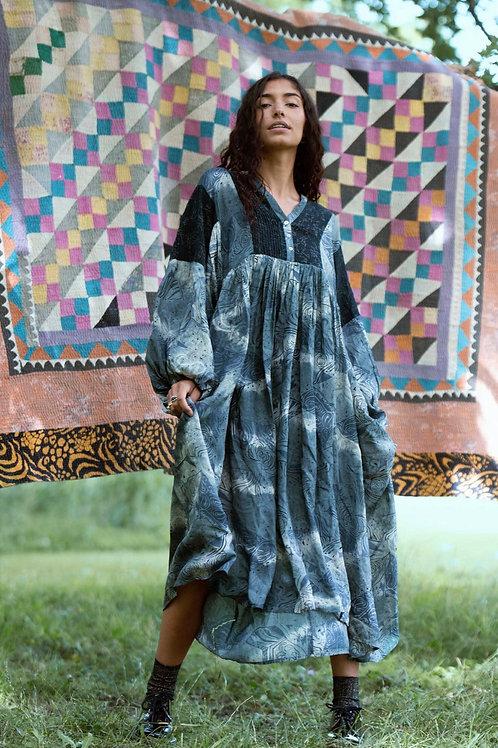 BEA BALOON SILK DRESS 01