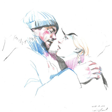 🔴 Joel and Clementine of Eternal Sunshine of the Spotless Mind
