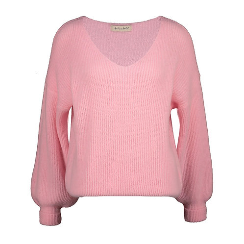 POIRE KNITTED SWEATER LIGHT PINK