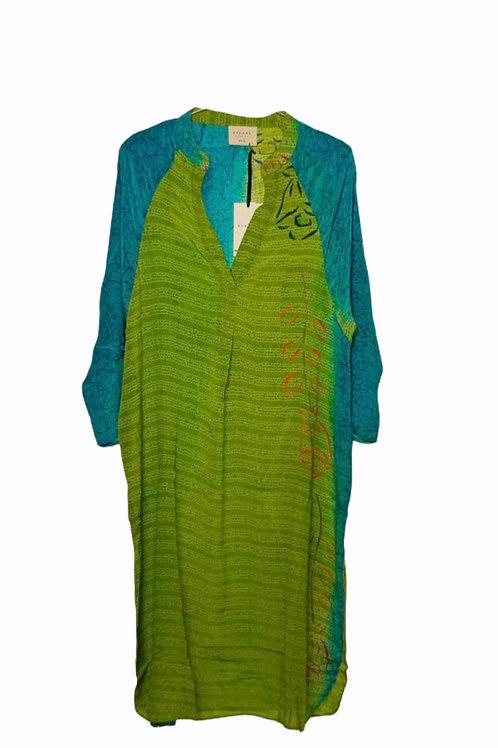 ADINA SILK CAFTAN DRESS 147