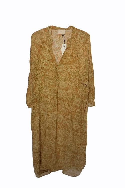 ADINA SILK CAFTAN DRESS 143