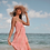Thumbnail: ANNA MOONSTONE DRESS CORAL