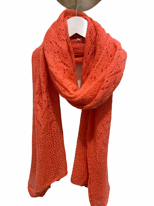 AUDREY SCARF CORAL