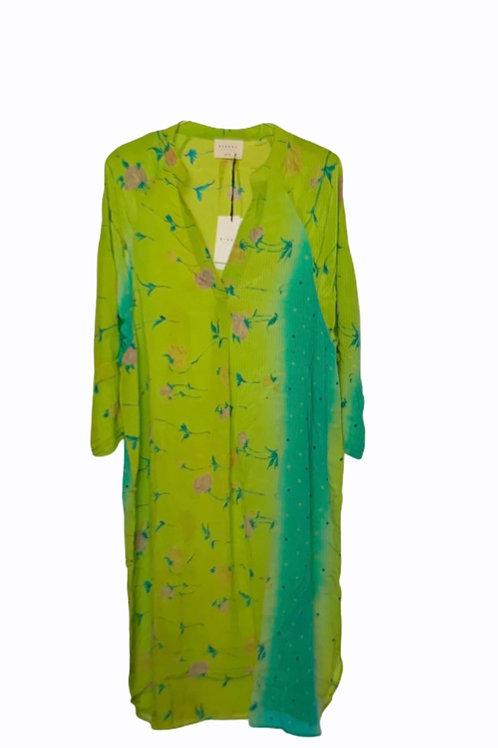 ADINA SILK CAFTAN DRESS 229