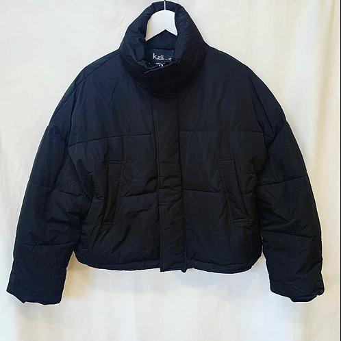 PUFFER COAT BLACK