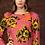 Thumbnail: FLEUR DRESS FUCHSIA/BRICK