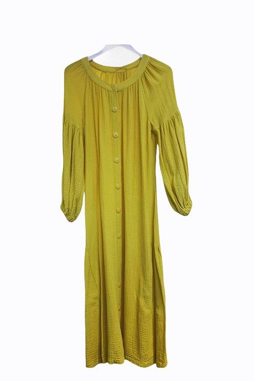 LUCY TETRA DRESS YELLOW