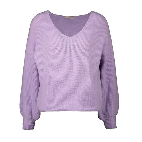 POIRE KNITTED SWEATER LILAC