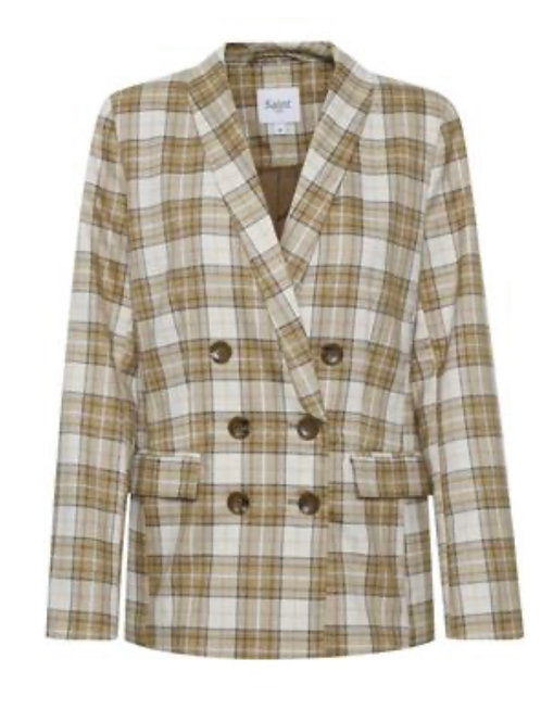 CONNIE CHECKERED BLAZER