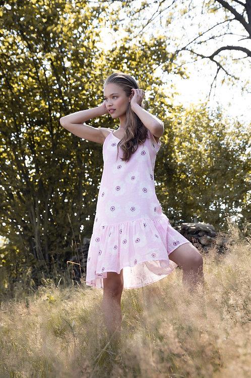 SUNNY DRESS PINK FLOWER