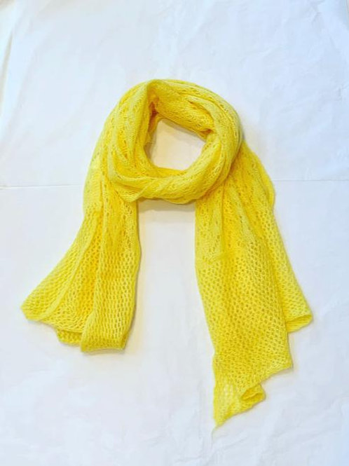 AUDREY SCARF YELLOW