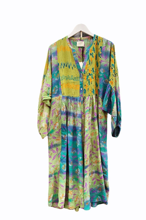 BEA BALOON SILK DRESS 04