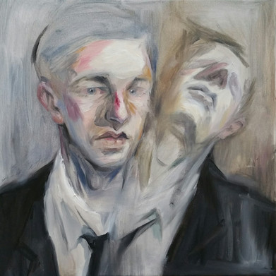 oil on canvas, 40cm x 40cm