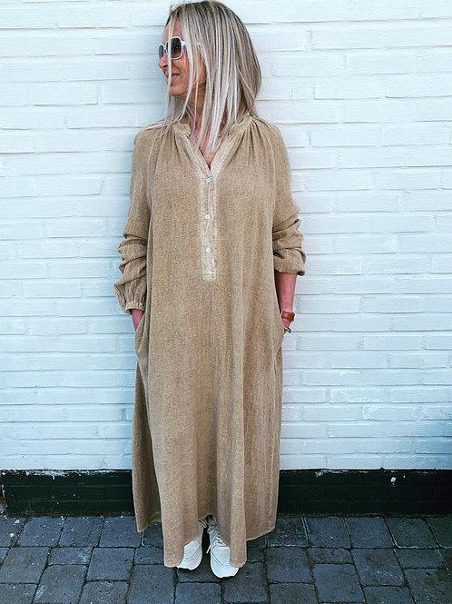 GRACE DRESS CAMEL
