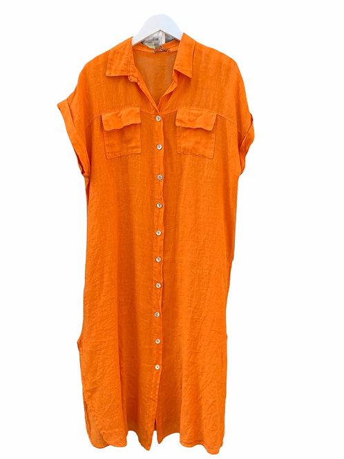 SUZY DRESS ORANGE