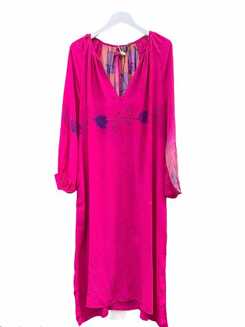 VIENNA SILK CAFTAN DRESS 01