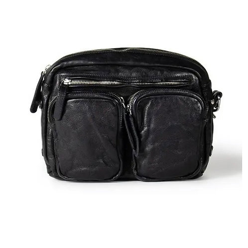 TONI LEATHER BAG BLACK
