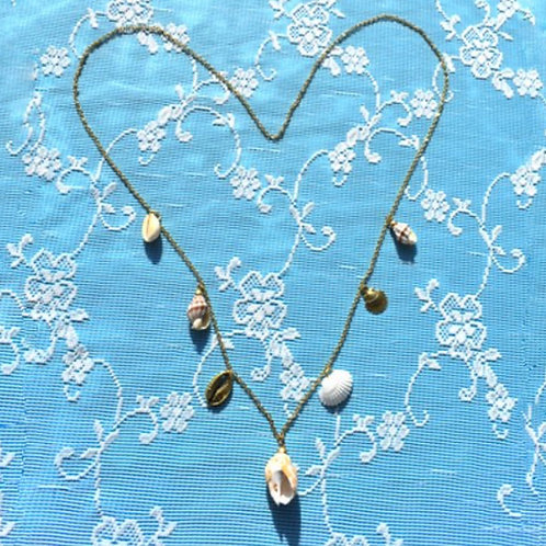 SICILY NECKLACE LONG NATURAL