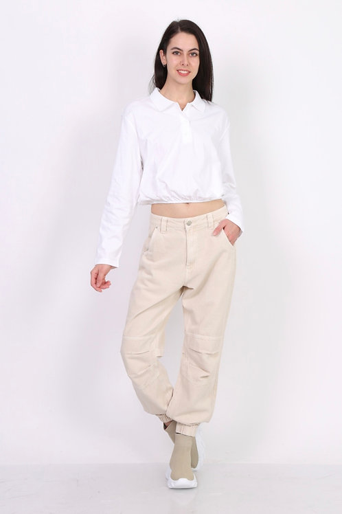 BAGGY PANTS OFF-WHITE