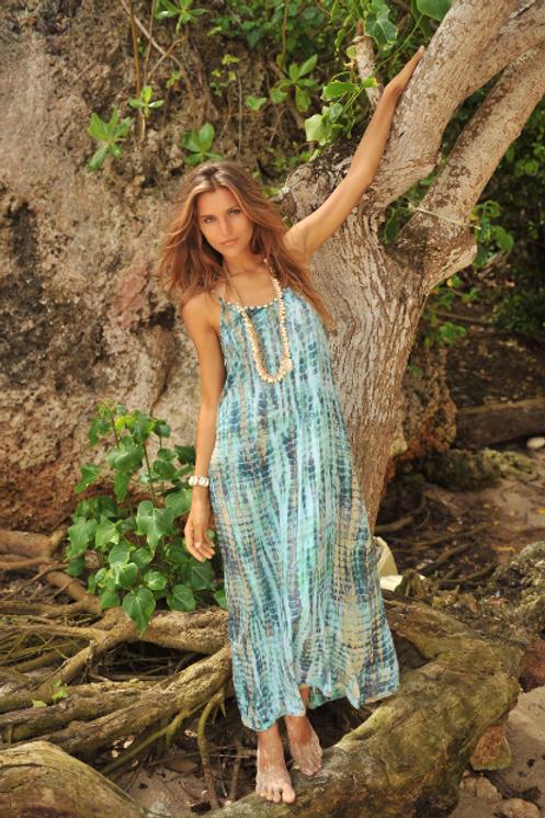 ANNA DRESS BLUE MOON