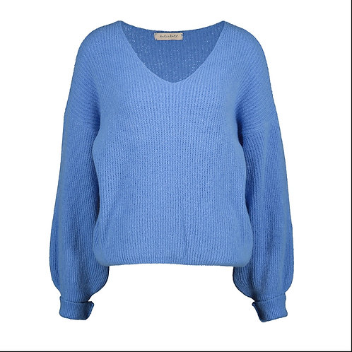 POIRE KNITTED SWEATER AZURE