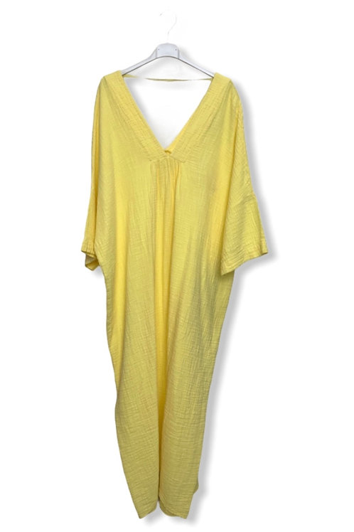 ROMY COTTON DRESS YELLOW