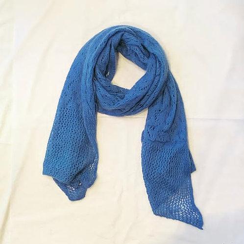 AUDREY SCARF LAVENDER BLUE