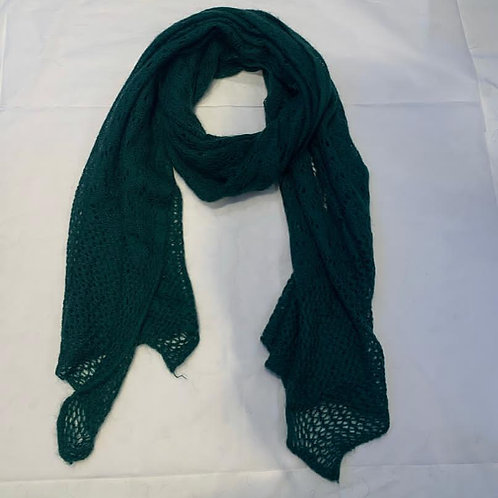 AUDREY SCARF BOTTLE GREEN