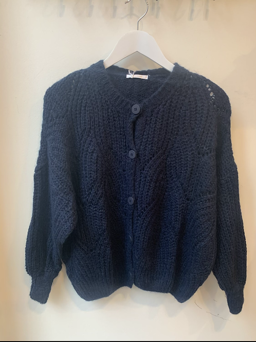 JULES CARDIGAN DARK BLUE