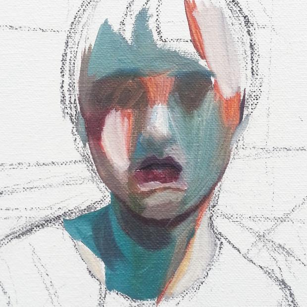 Self-Portrait oil on canvas