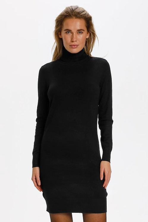 MILA ROLL NECK DRESS
