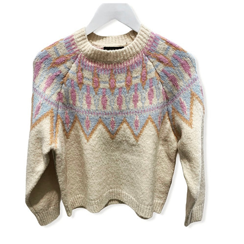 BISOU KNITTED SWEATER 2114 OFF WHITE