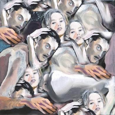 oil on canvas + digital ref: Les Liaisons Dangereuses 1960