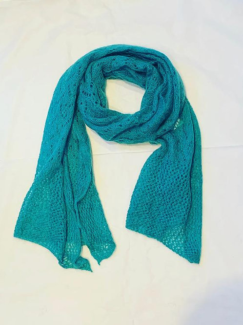 AUDREY SCARF TURQUOISE