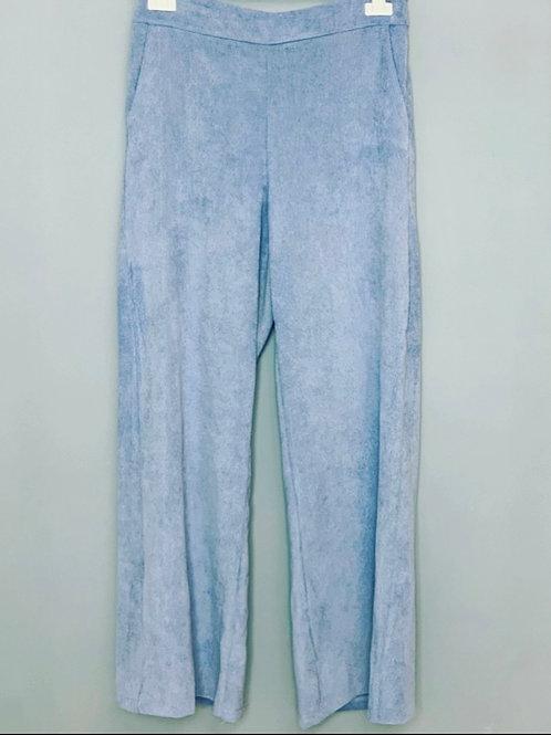 CORDUROY PANTS LIGHT BLUE