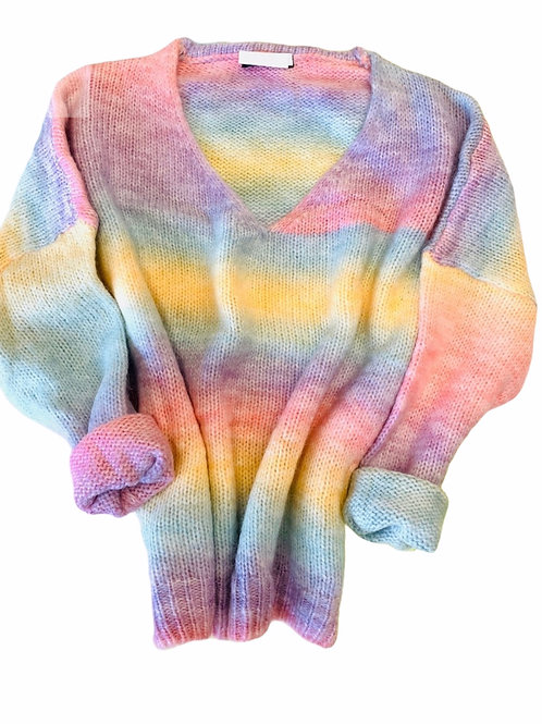 RAINBOW KNITTED SWEATER 3