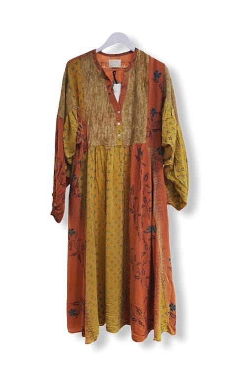 BEA BALOON SILK DRESS 06