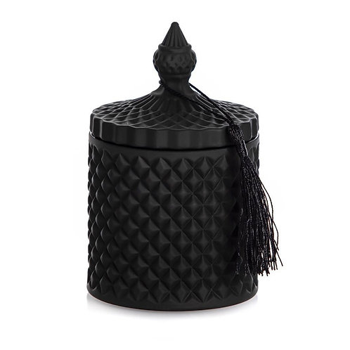 IBIZA HANDMADE CANDLE BLACK 300ML
