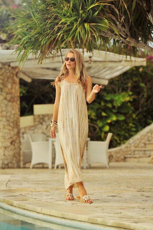 ANNA MOONSTONE DRESS TAUPE